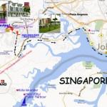 Dilenia homestay-legolandto-angsana-Johor Bahru city-JB Bazz, City Square map