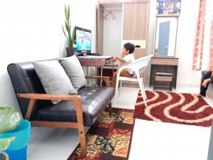 Homestay dekat Legoland Malaysia : Master Bed w/ LCD