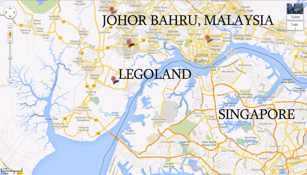 homestay-to-angsana-Johor Bahru city-JB Bazz, City Square, how to go, Legoland, Hello Kitty
