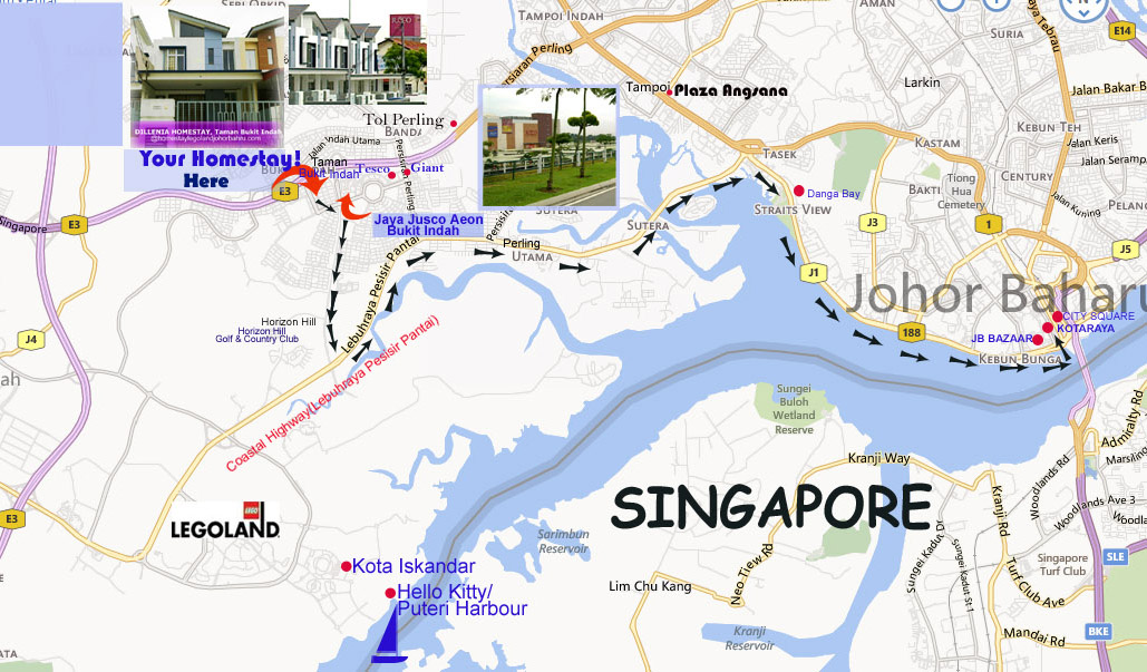 sp�cification Johor Map 2014