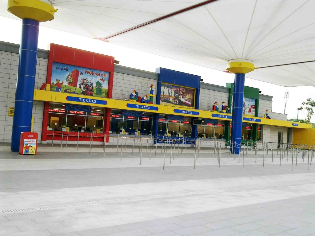 Legoland Malaysia Ticket Counter