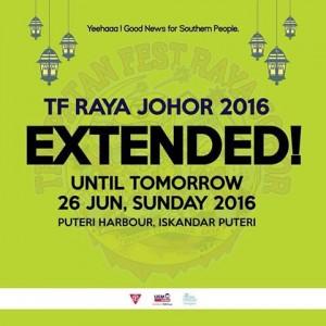 Tempatan Fest Raya 2016 at Puteri Harbour