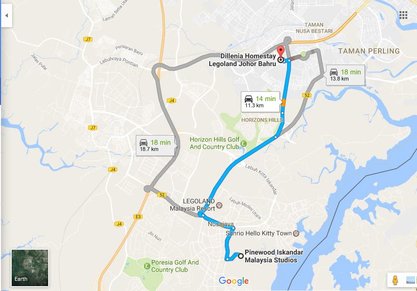 Cari Homestay Near Pinewood Studio, Iskandar Medini