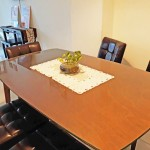Homestay dekat Legoland Malaysia : Living Room Dine Table