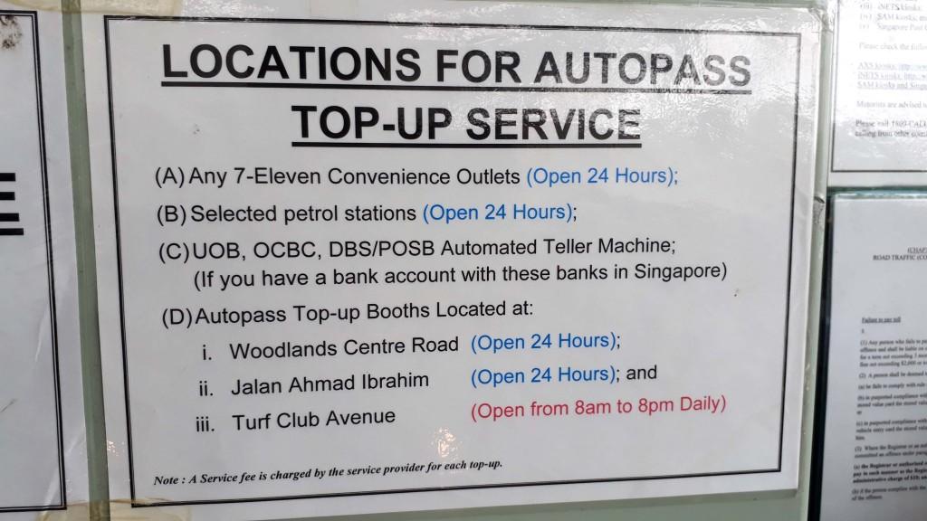 Homestay Near Tuas - Dillenia Homestay - http://www.homestaylegolandjohorbahru.com/blog -Autopass card for Singapore Foreign Car